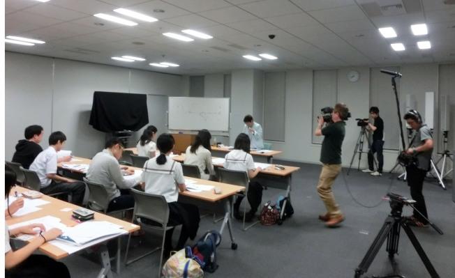 千代田区戦争体験記録集インタビュア―事前セミナー指導風景